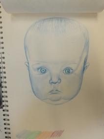 baby self portrait