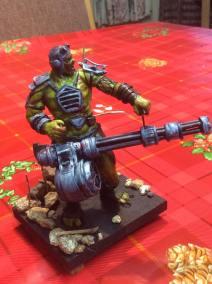 Fallout Super-mutant maquette
