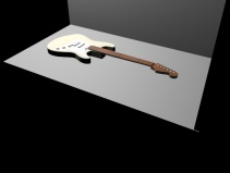 Fender Guitar (Rhino & 3DS Max)